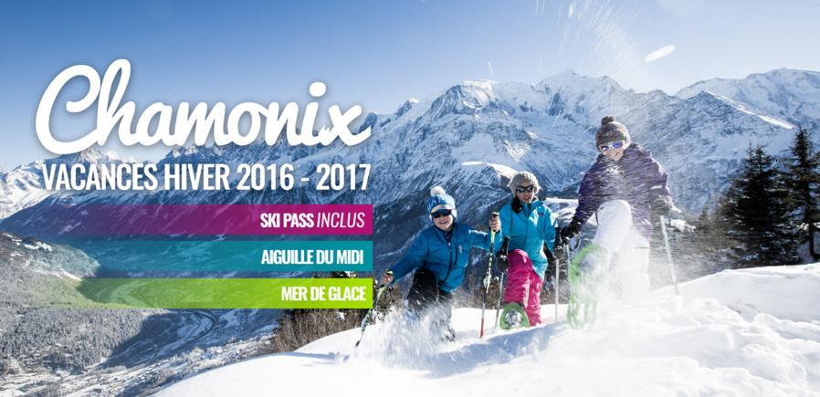 Vacances Hiver 2016 2017 à Chamonix
