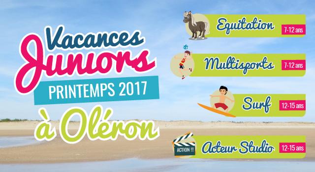 Colos de printemps à Oléron !