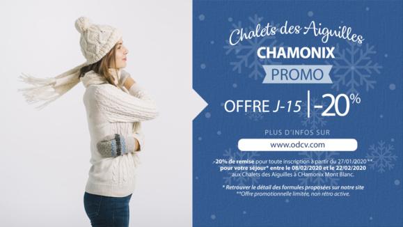 Offre dernière minute - Vacances de février à Chamonix Mont Blanc