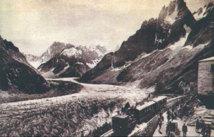 Mer de glace en 1900
