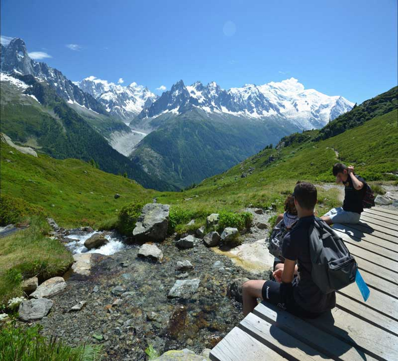 Itinérant au Pays du Mont Blanc 13-17 ans