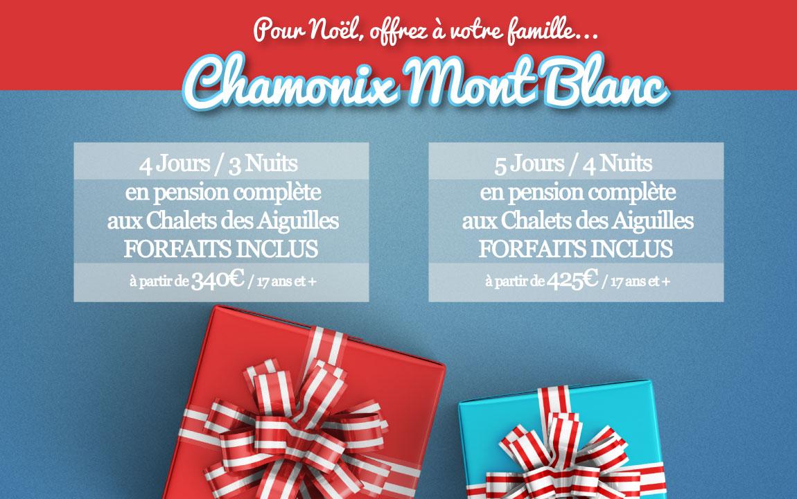A Noël, offrez Chamonix à votre famille...