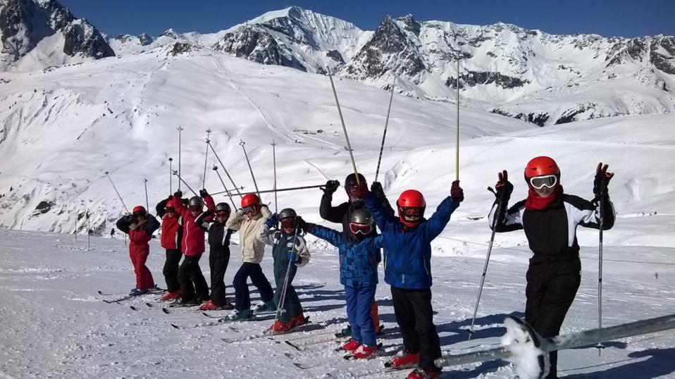Ski à Chamonix 8-16 ans