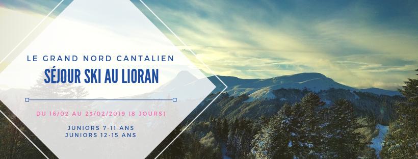 Le Grand Nord Cantalien au Lioran - Séjour Ski [7-11 ANS & 12-15 ANS]