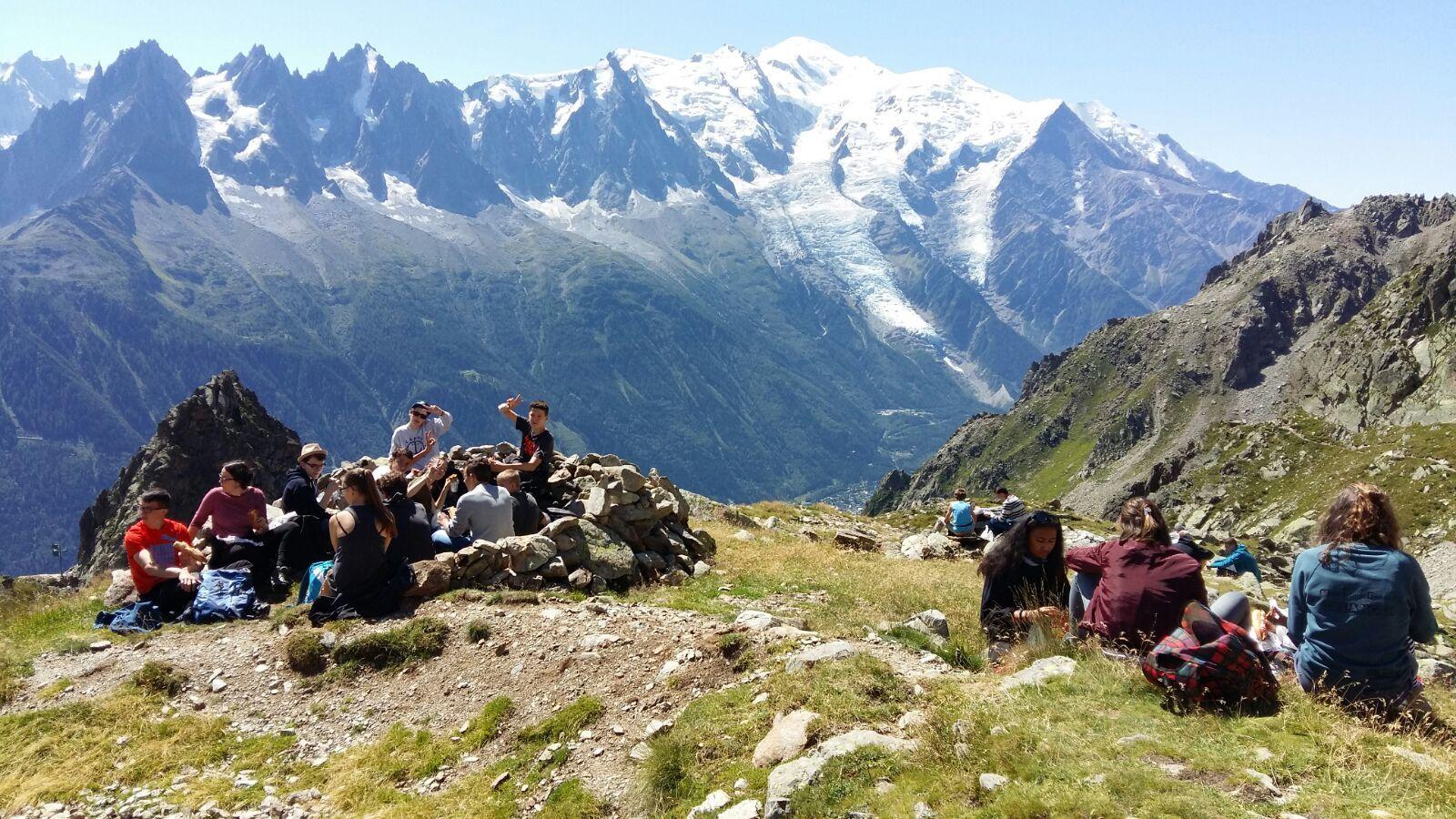 Chamonix Mont - Blanc Les chalets des Aiguilles - SEJOURS «INTEGRATION  en 6EME»