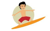 Surf à Oléron 12-15 ans
