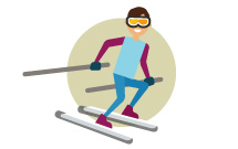 Ski à Super Besse 7-14 ans