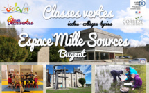 Classes vertes au pays des Mille Sources (Bugeat)